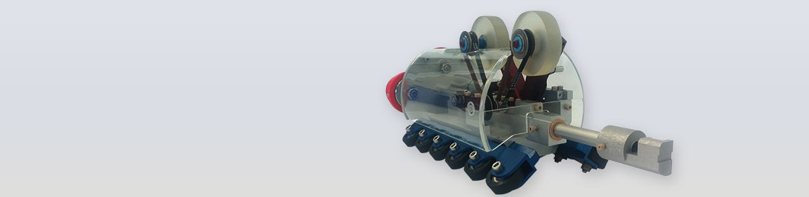 Inspection robot for magnetic cartography in 3D